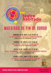 Abierto el plazo de matriculación para la Escuela Teatro Habitado 2017 – 2018