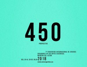450 propuestas aspiran a Emergentes 2018.